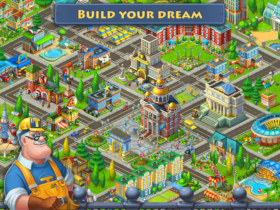 free android mod games township