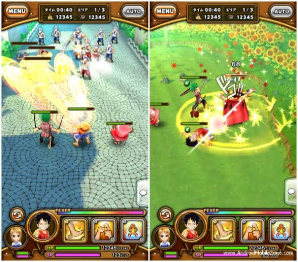one piece thousand storm mod apk ios