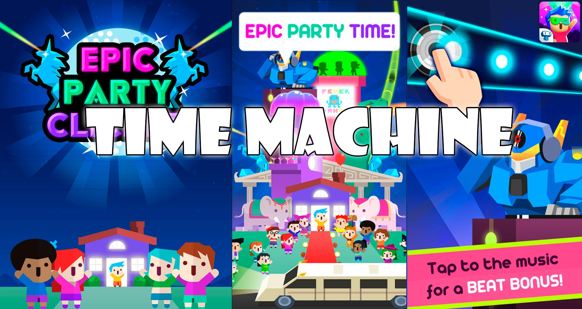 no-jailbreak] Epic Party Clicker - Beat Drop & Tap to the Rhythm v1