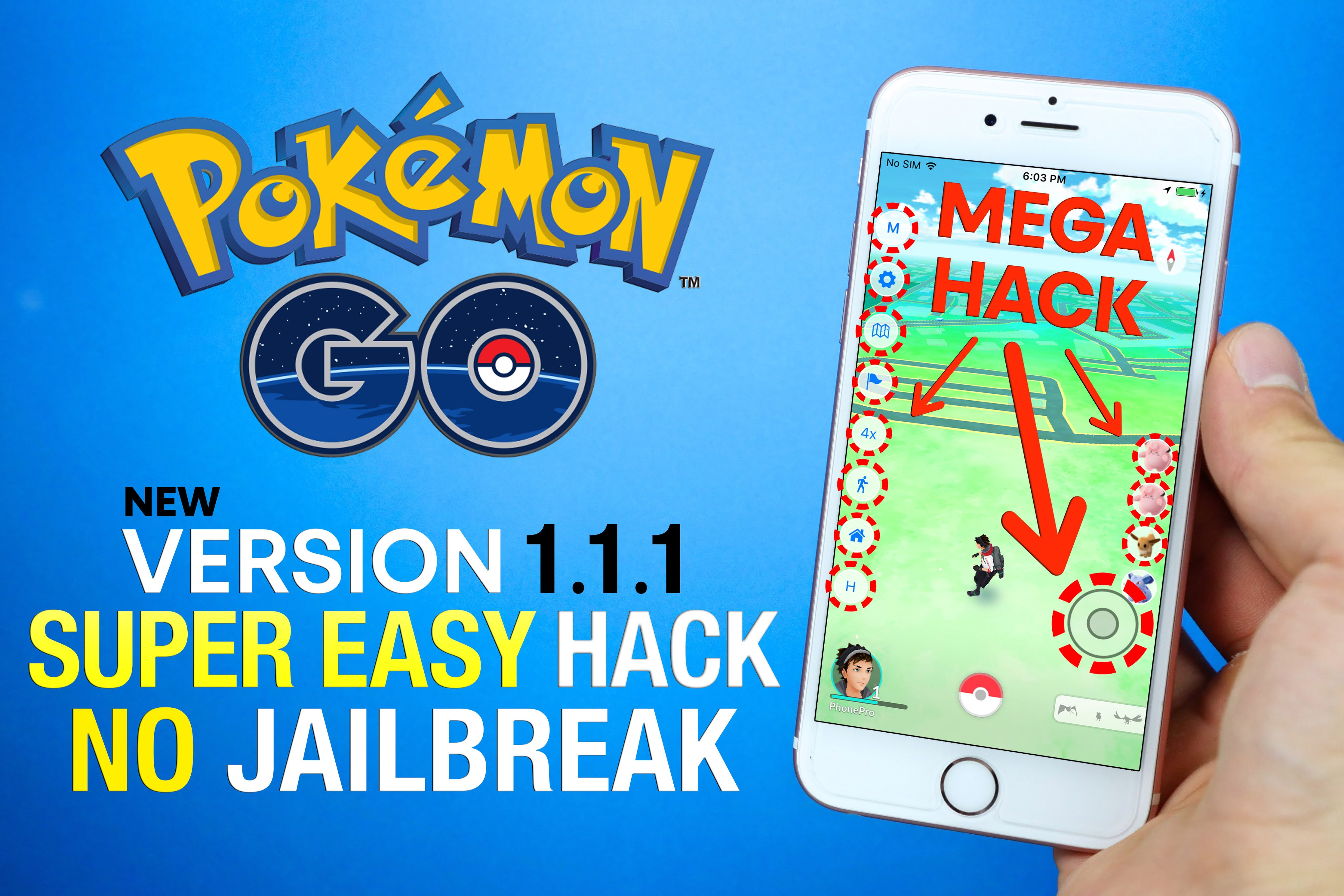 Pokémon GO v1 87 3 (PokeGo++) [Tap to walk anywhere] [Direct Install
